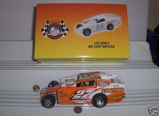 25 2007 DANNY JOHNSON #22 DIRT MODIFIED RACE CAR MINT BXD