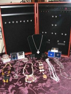 Premier design jewelry display case and jewelry