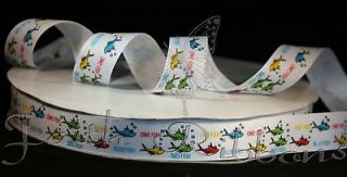 dr seuss ribbon in Multi Purpose Craft Supplies