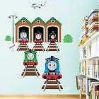 Train Thomas Kids Wall Stickers Nursery Decals Baby Children Room