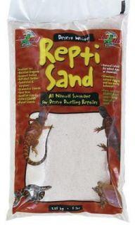 ReptiSand 10 lb Desert Lizards Bearded Dragon Substrate Red & White
