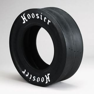 Hoosier Drag Racing Slick 28 x 10.00 15 Solid White Letters 18150D06