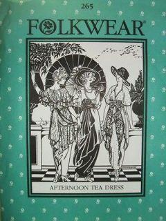 edwardian dress pattern in Costume Patterns