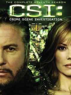 CSI Crime Scene Investigation Las Vegas Seventh Season 7 Seven New
