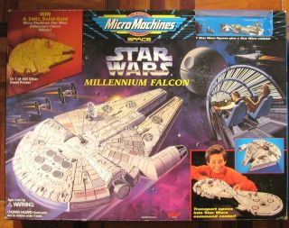 MICROMACHINES Millenium Falcon MISB STAR WARS TOYS SEALED NEW