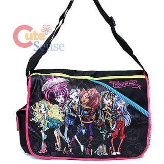 Monster High School Messenger Bag Diaper Bag Shoulder Bag   Gang of
