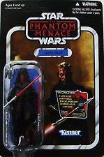 Star Wars Action Figures 2012 Vintage Style   Darth Maul (Phantom