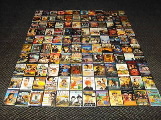 100 DVD WHOLESALE LOT, ASSORTED DVDS NO DUPLICATIONS