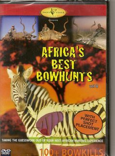 Africas Best Bowhunts Vol. 8 ~ Fair Game ~ Hunting DVD