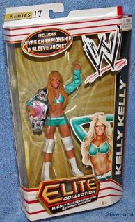 WWE Elite Collection KELLY KELLY w/ Diva Championship Belt Wrestling