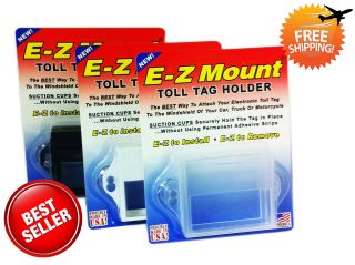 EZ Pass Toll Tag Holder 4 Different Chose E Z Mount / FREE SHIP OUT
