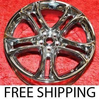 Set of 4 New Chrome 22 Ford Edge OEM Factory Wheels Rims 3850