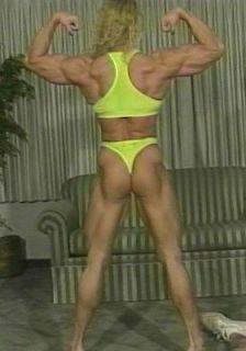 Wrestling & Bodybuilding DVD IFBB Pro Female Bodybuilder Denise
