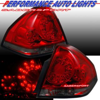CHEVROLET IMPALA L.E.D. TAIL LIGHTS LED RED SMOKE BRAND NEW PAIR