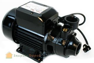 HP Electric Water Transfer Pump Clear Water OIl Centrifugal Bio