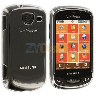 Clear Crystal Hard Snap On Skin Case Cover for Samsung Brightside U380