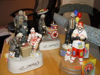 emmett kelly music boxes