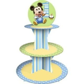 Mickey Mouse 1st Birthday Cupcake Stand Party Supplies