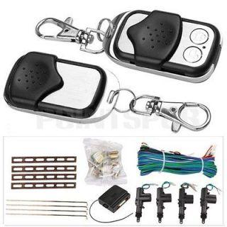 Door Remote Keyless Entry Central Lock Locking Kit