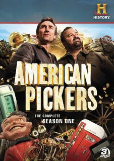 American Pickers: The Complete Season One (DVD, 2010, 3 Disc Set)