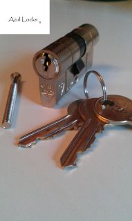 HIGH SECURITY KITEMARKED DOUBLE EURO DOOR LOCKS ANTI SNAP ZERO LIFT