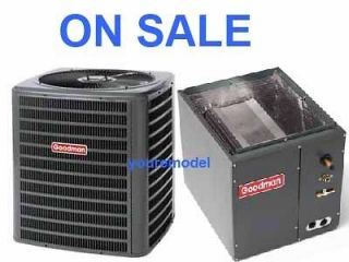 GOODMAN 13 SEER 3 TON AC CENTRAL AIR CONDITIONER R410A & Matching Coil
