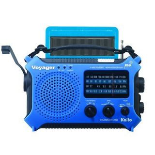 KA500 Dynamo Solar Crank Emergency Shortwave Weather Alert Radio Blue