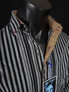 NEW JOHN LENNON English Laundry Shirt DOVETAIL PRIMARY in Silver