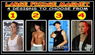 EMINEM MARSHALL MATHERS f82m LARGE FRIDGE MAGNET CHOICE OF 4