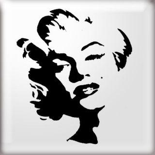 Stencils, Marilyn Monroe stencil, reusable stencil, not a vinyl