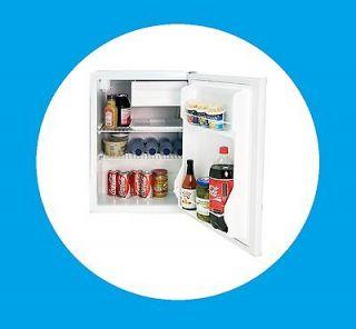 Black & Decker 2.7 cu ft Refrigerator with Freezer White   free ship