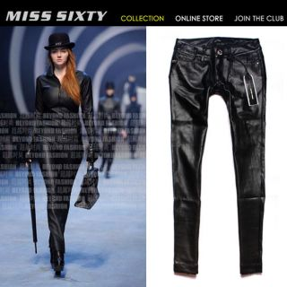 miss sixty leather pants in Pants