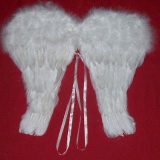 2sets White Feather Angel Wings 14 Halloween Christmas Costume Child