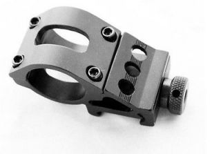 Side offset 25.4mm 1 Ring Weaver 20mm Rail Mount for Flashlight