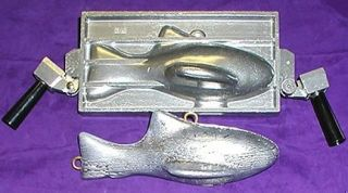 HILTS DOWNRIGGER FISH SINKER MOLD DO IT YOURSELF MOLDS 8 10 LB ALASKA