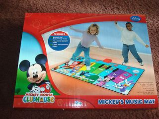 New Mickey Mouse Clubhouse Piano Dance Singing Games Music Mat X mas