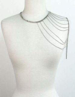 Body Chain shoulder necklace sexy temptress rocker decoration jewelry