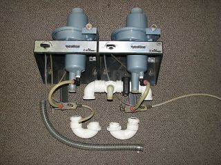 H5 Dual Hydromiser Water Recycler System for Dental Vacuum Pump