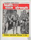 Health and Strength Bodybuilding Musclemag Arnold /Dave Draper / Reg