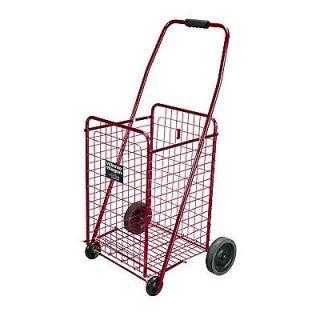 DRIVE 605R Winnie Wagon Folding Laundry Cart Basket