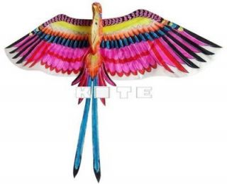 3D BIRD OF PARADISE KITE FLYING TOY ART CRAFTS ROOM WALL HOME