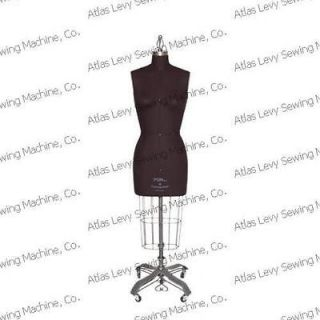 Professional dress form, Mannequin, Size 10, w/Hip+Arm