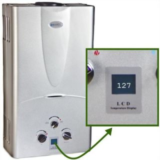 Propane Gas Tankless Hot Water Heater Whole House 3.1 GPM   DIGITAL