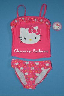 Hello Kitty Swimsuit Bathing Suit Size 4 5 6 6X 7 8 10 12 Girls PINK