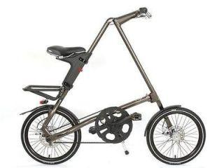 NEW Strida SX folding bike 18 wheel,belt drive, 22lbs,smallest fold