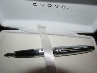 18K PURE WHITE GOLD AND PLATINUM FOUNTAIN PEN SOLID WHITE GOLD NIB