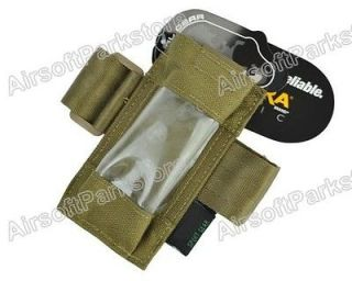 Airsoft Tactical 1000D Cordura Pouch for Dummy GPS FX101 Tan