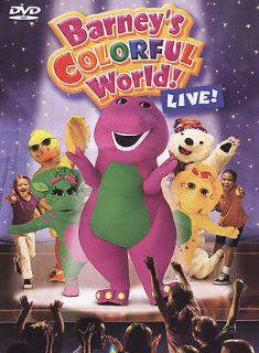Barneys Colorful World Live (DVD, 2004) 22 Super Dee Duper Songs