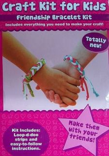 Loop D Doo Craft Kit For Kids Friendship Bracelet Kit (Stocking Gift)