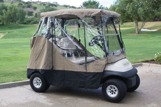 Passenger Driving Enclosure Golf Cart Cover.Fit EZ Go,Club Car